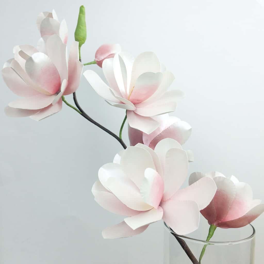 Magnolia Paper Flower Tutorial