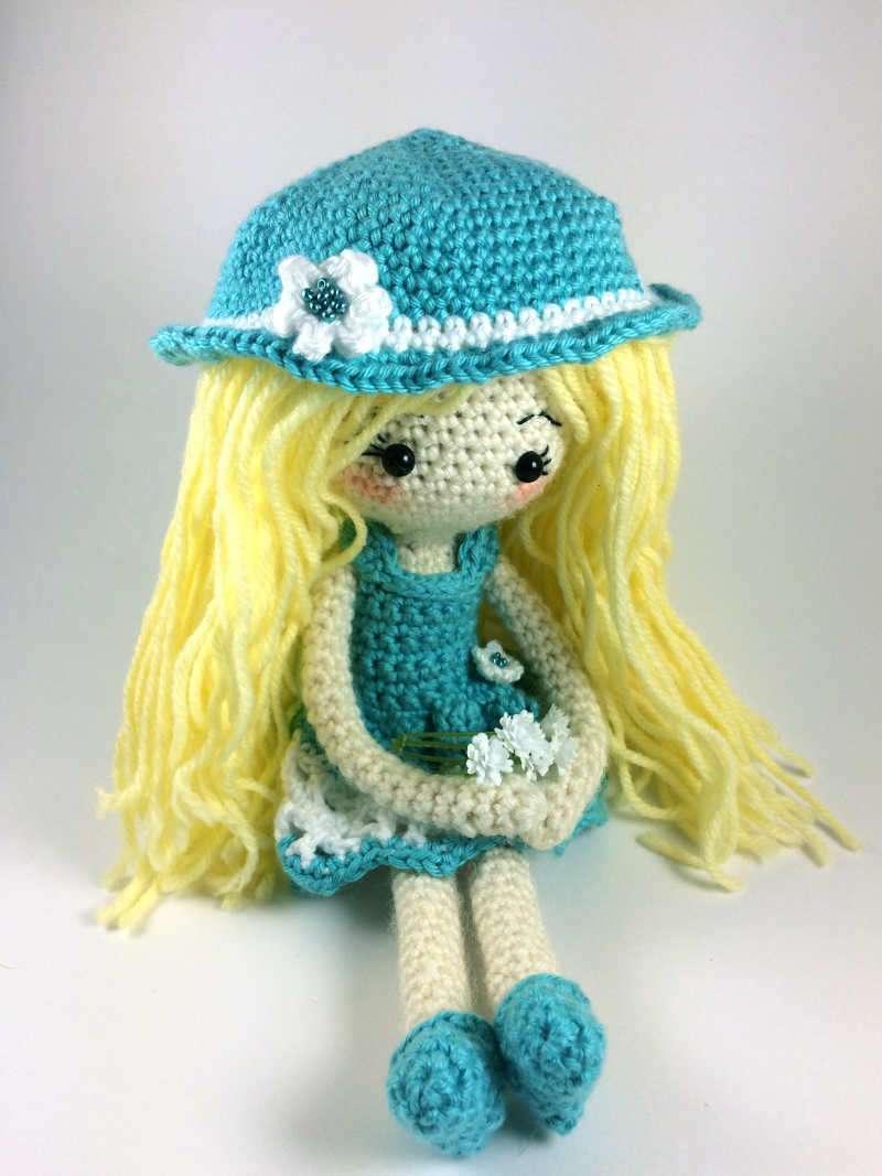 Summer Dress for Crochet Doll