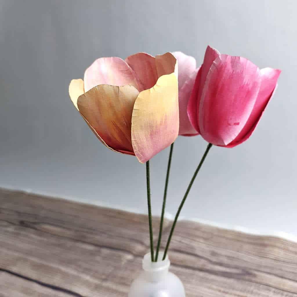 Paper Tulip Template