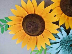 How to Make a Giant Paper Sunflower