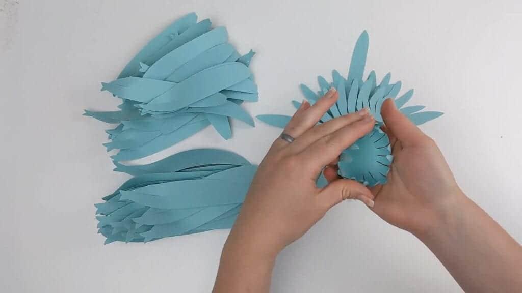 how to make giant gerbera daisy